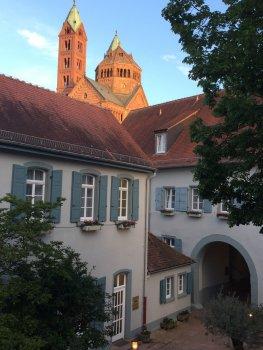 Tussenstop in de mooie stad Speyer